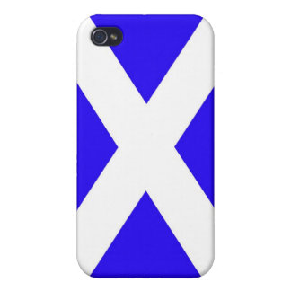 Scotland flag cover for iPhone 4