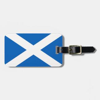 Scotland Flag Luggage Tag