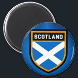 """Scotland Flag Magnet<br><div class=""""desc"""">Scotland Flag</div>"""
