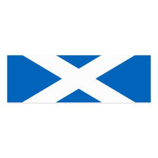 Scotland Flag Mini Business Card