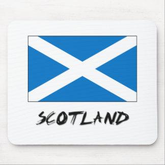 Scotland Flag Mouse Mat