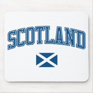 Scotland + Flag Mouse Pad