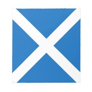 Scotland flag note pad