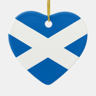 Scotland Flag Christmas Tree Ornaments