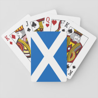 Scotland Flag Playing Cards