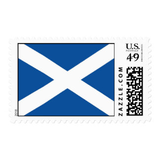Scotland Flag Postage Stamps