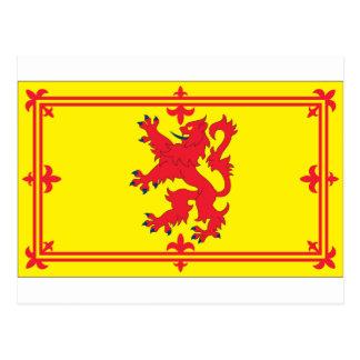 Scotland Flag Postcard
