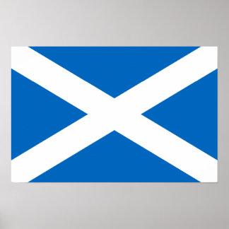 Scotland Flag Poster