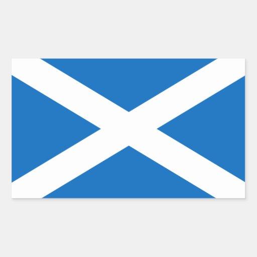Scotland Flag Rectangular Sticker