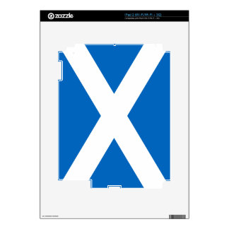 Scotland Flag Saltire Decal For The iPad 2