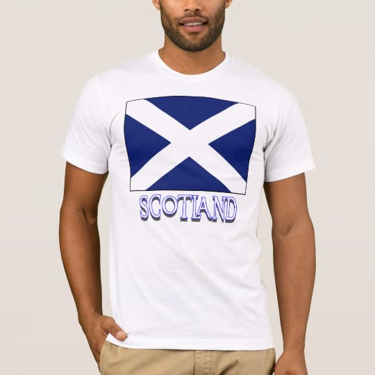 SCOTLAND FLAG, SCOTLAND T-Shirt