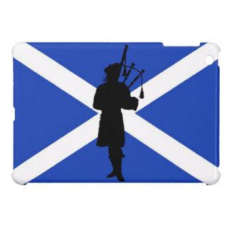 Scotland flag Scottish bag piper pipe iPad Mini Cover