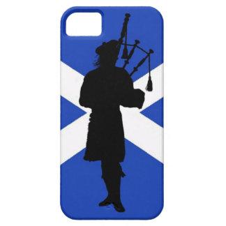 Scotland flag, Scottish bag pipper pipes iPhone 5 Cases