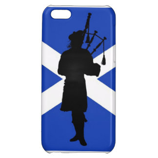 Scotland flag Scottish bag pipper pipes iPhone 5C Cover