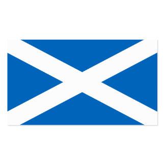 Scotland Flag - Scottish Flag Souvenir Business Card