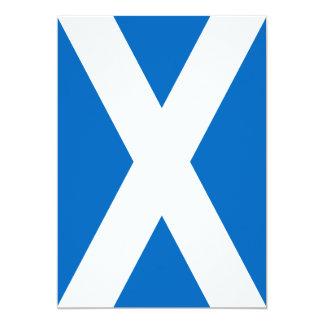 Scotland Flag - Scottish Flag Souvenir Card