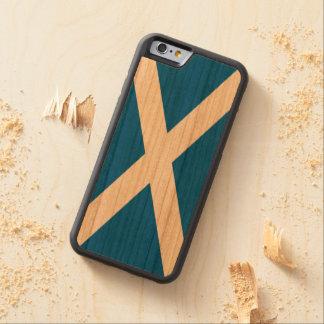 Scotland Flag - Scottish Flag Souvenir Carved® Cherry iPhone 6 Bumper Case