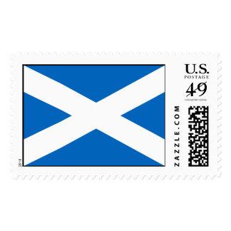 Scotland Flag - Scottish Flag Souvenir Stamps