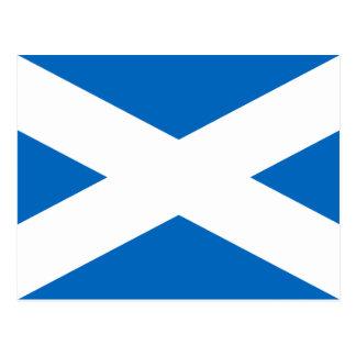 Scotland Flag - Scottish Flag Souvenir Postcard
