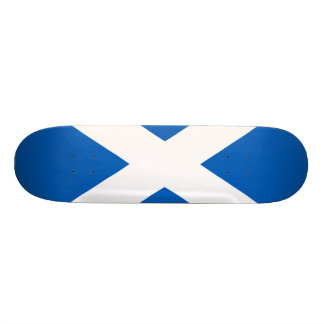 Scotland Flag Custom Skateboard