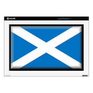 "Scotland Flag 17"" Laptop Skin"