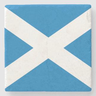 Scotland Flag Stone Coaster