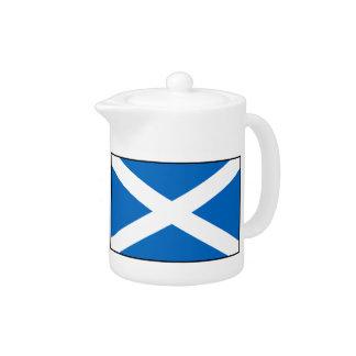 Scotland Flag Teapot