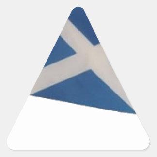 Scotland Flag Triangle Sticker