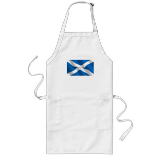 Scotland Flag White Cross From Whence We Came Long Apron