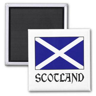 Scotland Flag & Word Magnet
