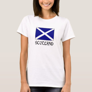 Scotland Flag & Word T-Shirt