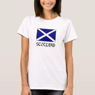 Scotland Flag & Word T-Shirt