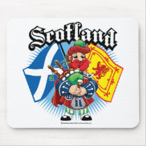 Scotland Flags and Piper Mouse Pad