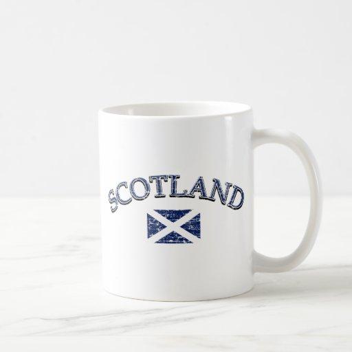 Scotland football design classic white coffee mug