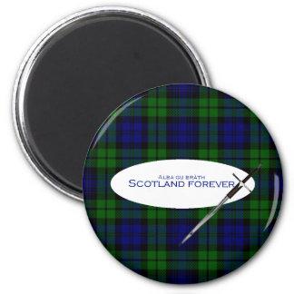 Scotland Forever Alba gu bràth 2 Inch Round Magnet