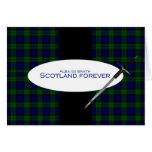 Scotland Forever Alba gu bràth Greeting Cards