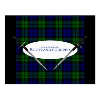 Scotland Forever Alba gu bràth Postcard