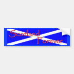 Scotland Forever Bumper Sticker Car Bumper Sticker