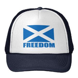 Scotland Freedom Flag Hats