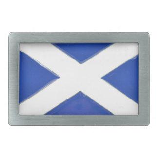 Scotland Friend Rectangular Belt Buckle