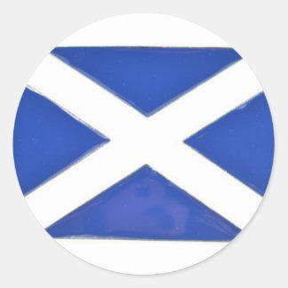 Scotland Friend Classic Round Sticker