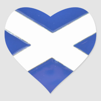Scotland Friend Heart Sticker
