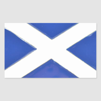 Scotland Friend Rectangular Sticker