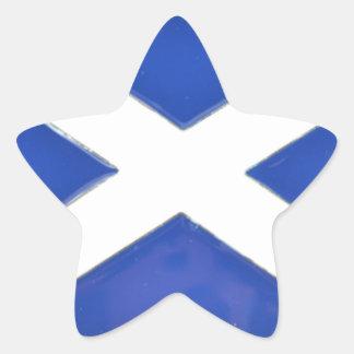 Scotland Friend Star Sticker