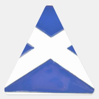 Scotland Friend Triangle Sticker