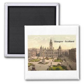Scotland Glasgow George Square (St.K.) 2 Inch Square Magnet