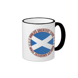 Scotland Greatest Team Ringer Coffee Mug