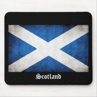 Scotland Grunge Flag Mouse Pad