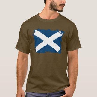 Scotland Grunge Flag T-Shirt