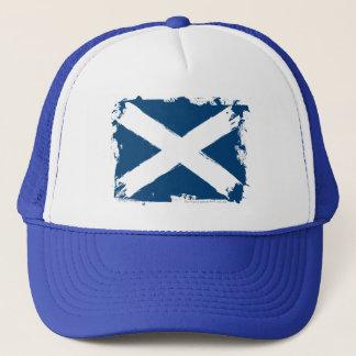 Scotland Grunge Flag Trucker Hat